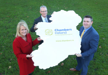 Karl Fitzpatrick represents Wexford Chamber at launch of new Chambers Ireland brand